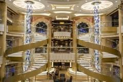 Interior barco crucero Sky Princess