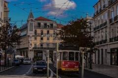 Tranvía 28 de Lisboa (Portugal)