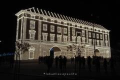Portada principal del Real de la Feria de Málaga