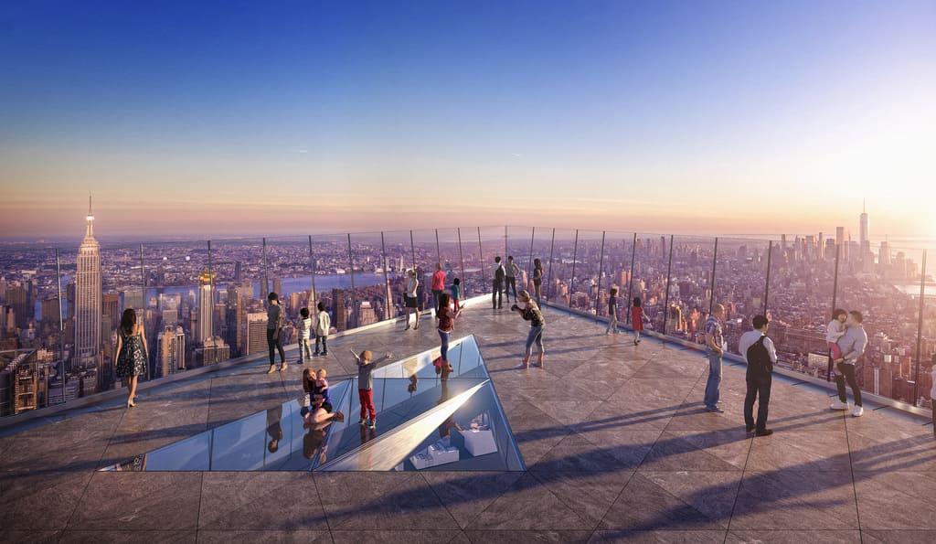 plataforma de observación Edge de Nueva York