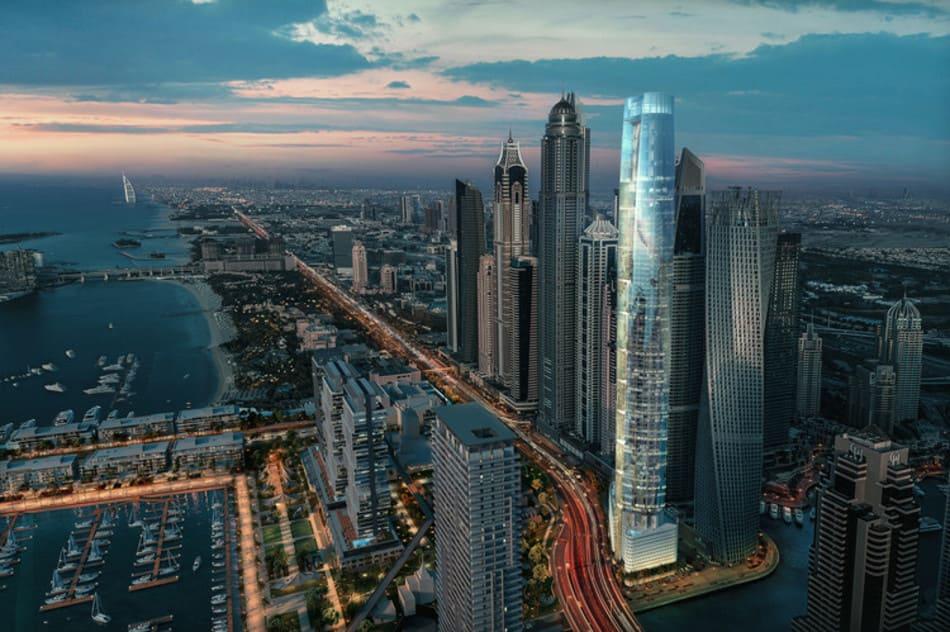 la torre ciel de Dubai