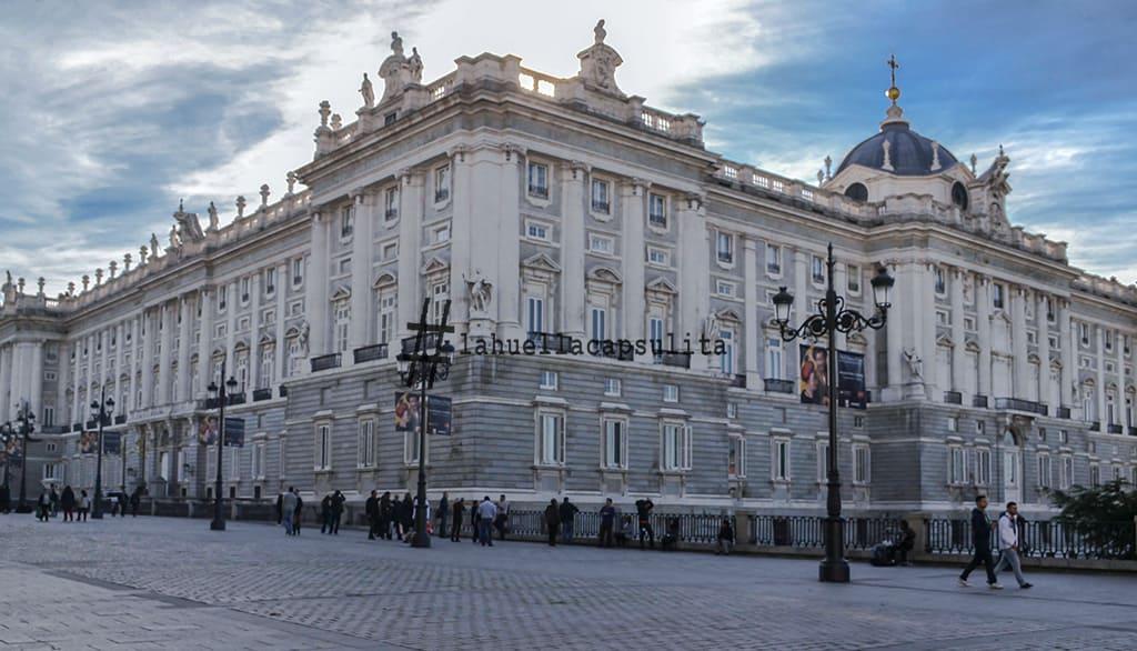 stopover hola madrid, palacio real