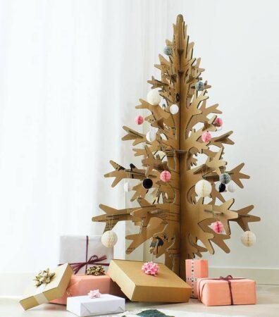árbol navideño ecológico