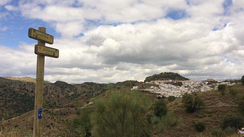 itinerario jacobeo de málaga