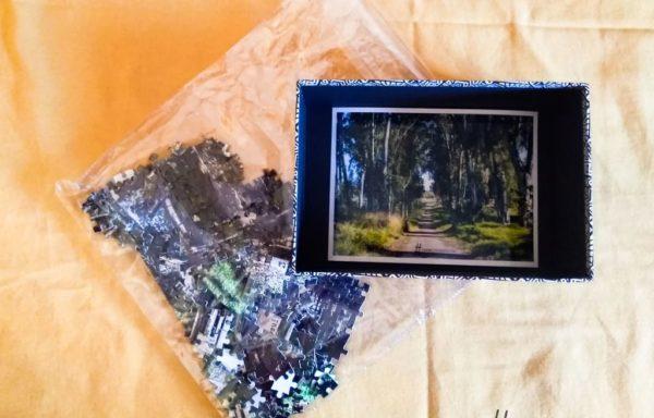 Puzzle fotográfico de cartón con fotografía original 'Capsulita' en CUSTOMGRAS